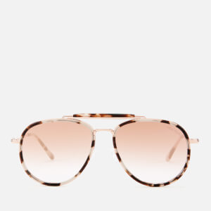 Tom Ford Women's Tripp Sunglasses - Coloured Havana/Gradient