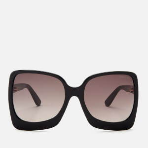 Tom Ford Women's Emmanuella Sunglasses - Shiny Black/Gradient Roviex