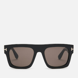 Tom Ford Women's Fausto Sunglasses - Shiny Black/Smoke