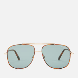 Tom Ford Men's Benton Sunglasses - Shiny Rose Gold/Blue