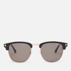 Tom Ford Men's Henry Sunglasses - Black/Green