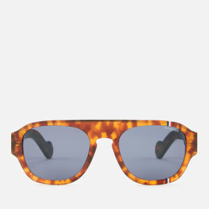 Moncler Men's Acetate Sunglasses - Havana/Blue