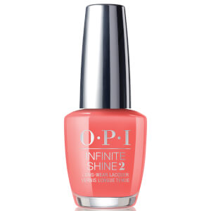 OPI Limited Edition PUMP Neon Collection - Infinite Shine Nail Polish Orange You a Rock Star? 15ml