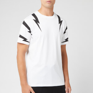 Neil Barrett Men's Tiger Bolt T-Shirt - White/Black
