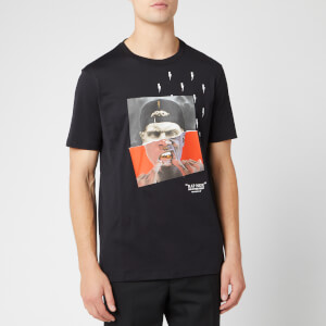 Neil Barrett Men's Street Nox T-Shirt - Black/Red