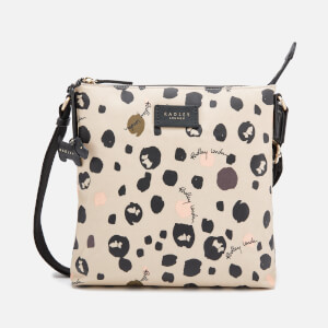 Radley Women's Bubble Dog Small Zip Top Cross Body Bag - Dove Grey