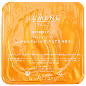 Lumene Nordic-C [VALO] Bright Eyes Awakening Patches (6 Pairs)