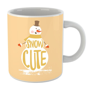 Christmas Snow Cute Snowman Mug
