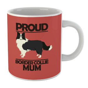 Proud BorderCollie Mum Mug