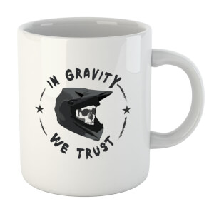 In Gravity We Trust BMX Mug