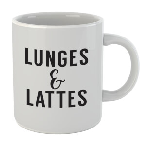 Lunges And Lattes Mug