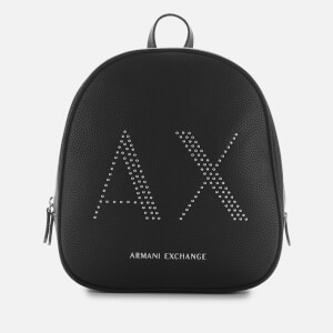 Armani Exchange Women's Kendall Backpack - Black
