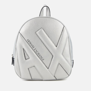 Armani Exchange Women's Emma Backpack - Silver