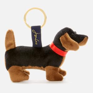 Joules Women's Charmwell Dog Keyring - Black