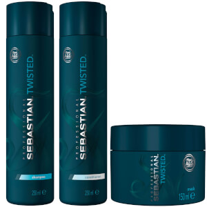 Sebastian Professional Twisted Curl Bundle (Worth £64.20)