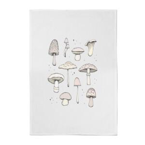 Mushrooms Cotton Tea Towel