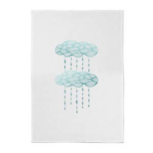 Rainy Days Cotton Tea Towel