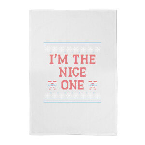 I'm The Nice One Cotton Tea Towel