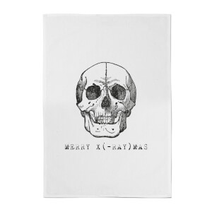 Merry X(-Ray) Mas Cotton Tea Towel