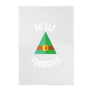 Go Elf Yourself Cotton Tea Towel