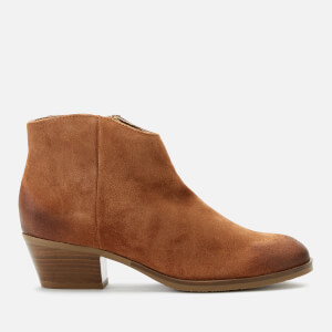 Clarks Women's Mila Myth Suede Heeled Ankle Boots - Tan