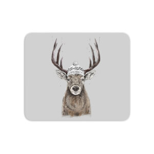 Winter Deer Mouse Mat