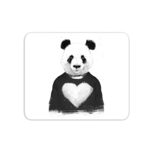 Panda Love Mouse Mat