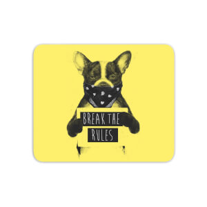 Break The Rules Mouse Mat