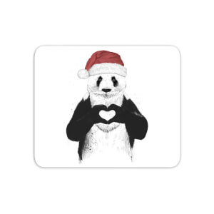 Santa Bear Mouse Mat