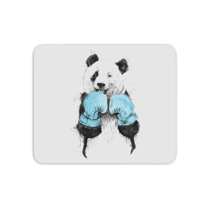 Boxing Panda Mouse Mat