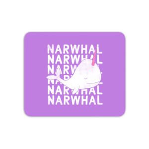 Narwhal Mouse Mat