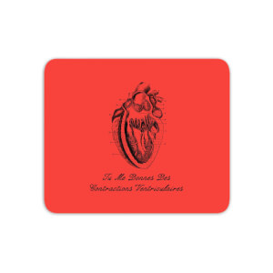 Premature Ventricular Contractions (FR) Mouse Mat