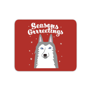 Seasons Grrreetings Mouse Mat