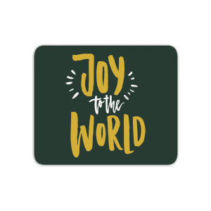 Joy To The World Mouse Mat