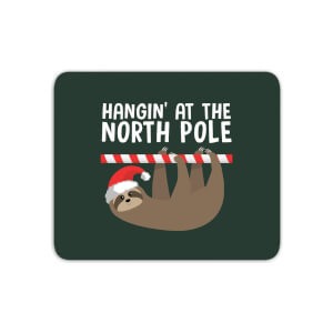 Hangin' At The North Pole Mouse Mat