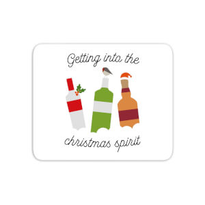 Getting Into The Christmas Spirit Mouse Mat