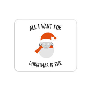 All I Want For Christmas Is Ewe Mouse Mat