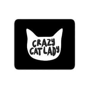 Crazy Cat Lady Mouse Mat