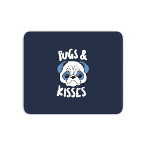 Pugs & Kisses Mouse Mat