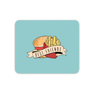 Fast Food Friends Mouse Mat