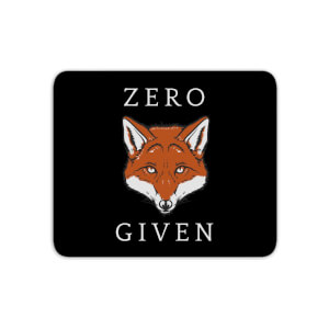 Zero Fox Given Mouse Mat