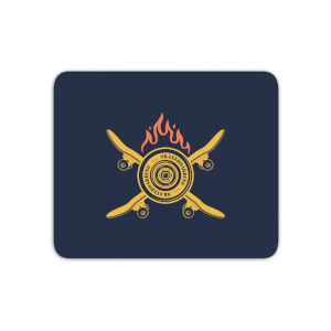 Skateboards On Fire Mouse Mat