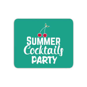 Summer Cocktails Party Mouse Mat