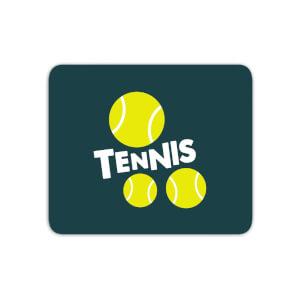 Tennis Balls Mouse Mat