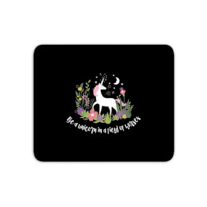 Be A Unicorn In A Field Of Horses Mouse Mat