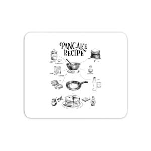 Pancake Recipe Mouse Mat