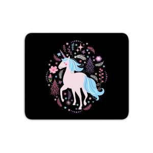 Pink Unicorn Mouse Mat