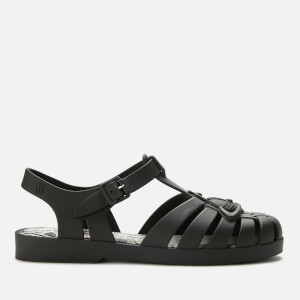 Vivienne Westwood for Melissa Women's Possession Flat Sandals - Black Matt Orb