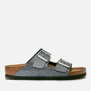 Birkenstock Women's Arizona Slim Fit Double Strap Sandals - Cosmic Sparkle Anthracite