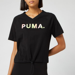 Puma Women's Chase V Short Sleeve T-Shirt - Puma Black